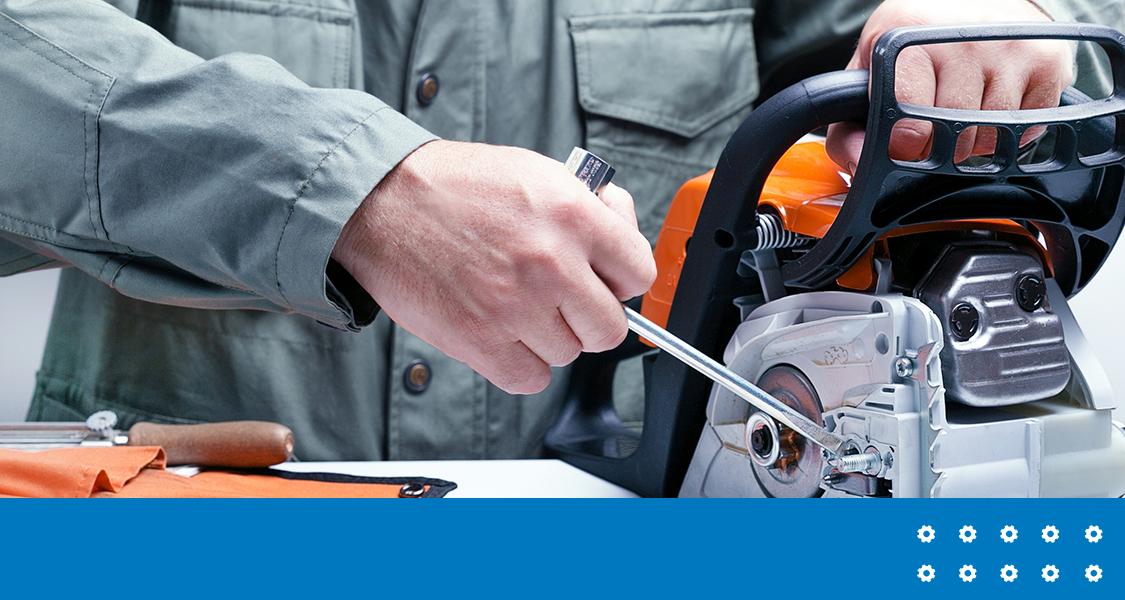 Como fazer limpeza e manutenção preventiva da motosserra